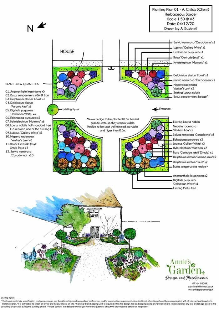 Garden Design Oxfordshire | Annie's Garden Design