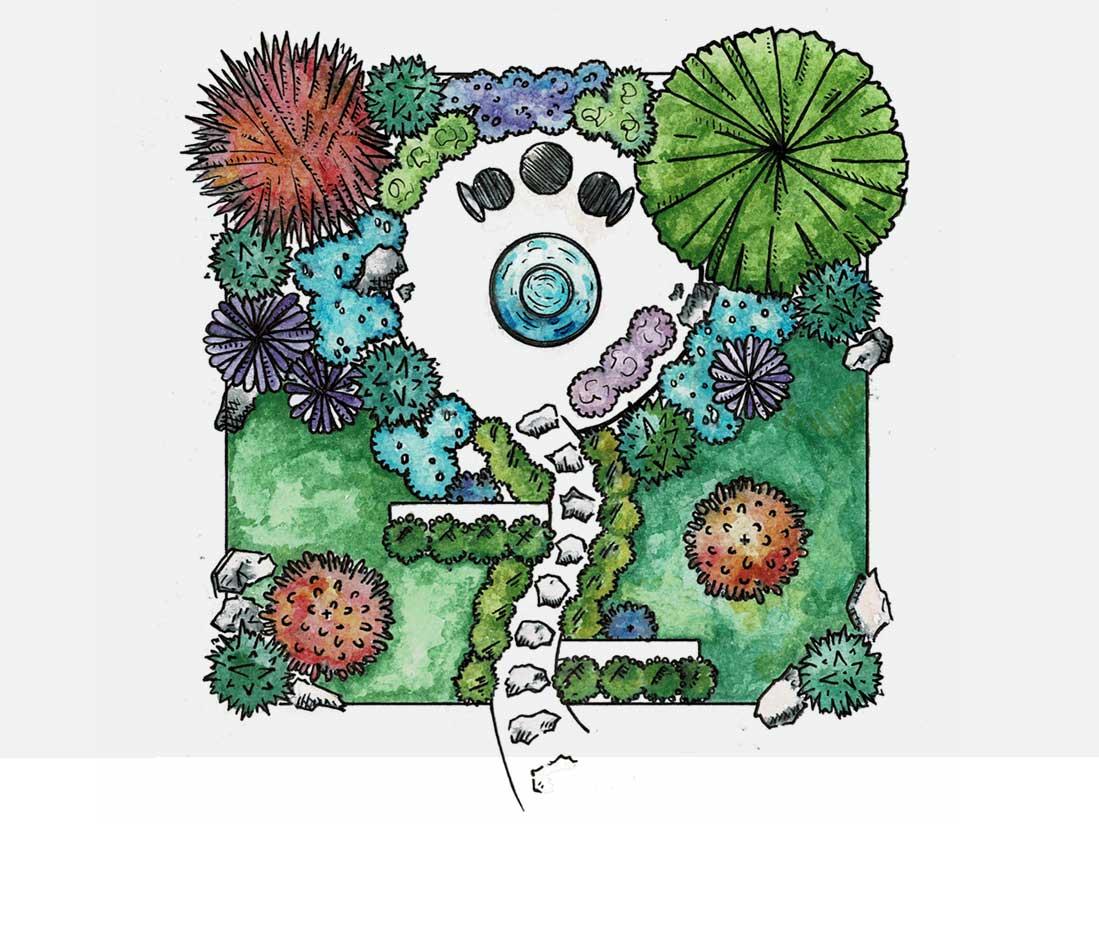 Garden Design Oxfordshire   Annie's Garden Design